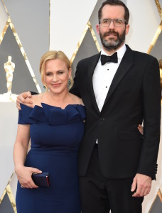Patricia Arquette e Eric White (VALERIE MACON/AFP/Getty Images)